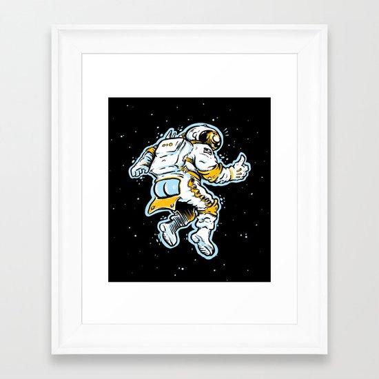 ASStronaut Framed Art Print