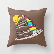 The Grand-CAKE'nyon Throw Pillow