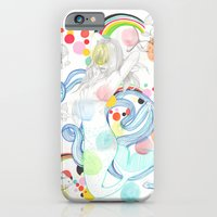 iPhone & iPod Case featuring The Siren by Raül Vázquez
