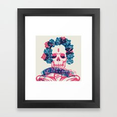 WE ARE ALL LOST. LOST TIME Framed Art Print