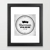 Sherman Park Framed Art Print
