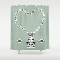 ABC CIRCUS Shower Curtain