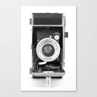 Vintage Camera No. 1 Canvas Print
