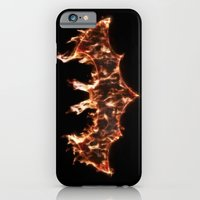 Bat On Fire iPhone 6 Slim Case