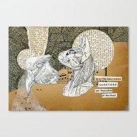 Electromagnetic Question… Canvas Print