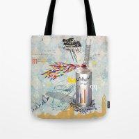 Sprayed Tote Bag