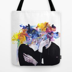 intimacy on display Tote Bag