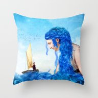 Throw Pillow featuring Coming Home by Diogo Verissimo