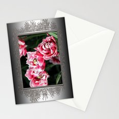 Double Late Peony-Flowered Tulip named Horizon Stationery Cards