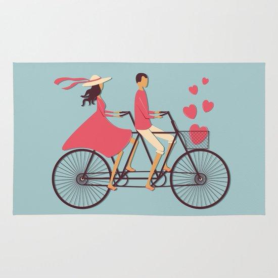 Love Couple Area & Throw Rug