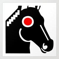 Zelonicus Horse Art Print