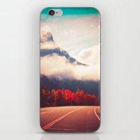 Misty Road iPhone & iPod Skin