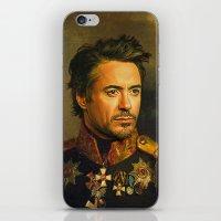 Robert Downey Jr. - Repl… iPhone & iPod Skin
