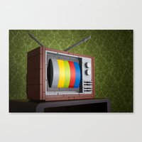 57 Channels And Nothing … Canvas Print