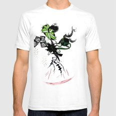 ENVY Mens Fitted Tee SMALL White