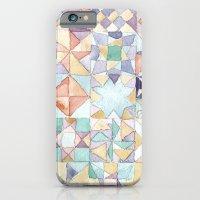 watercolour quilt iPhone 6 Slim Case