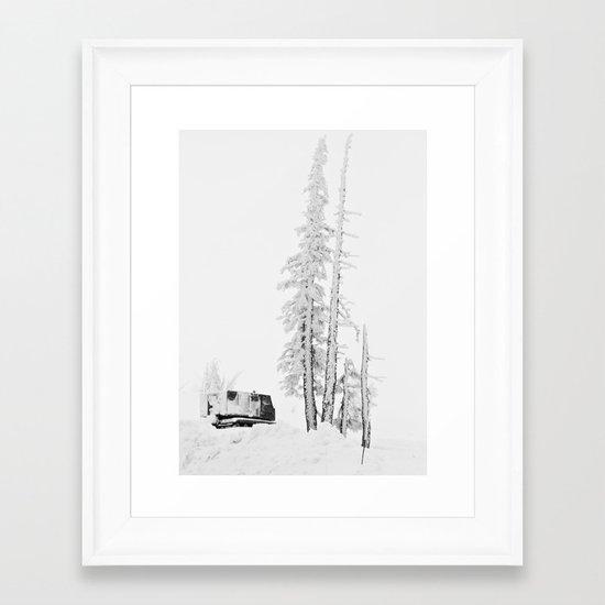 """ Timberline "" - Print Framed Art Print"