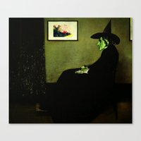 Wizzler's Mother  |  Wicked Witch Canvas Print