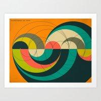 GOLDNER-HARARY ARC GRAPH Art Print