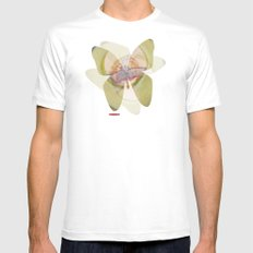 Pequeño White Mens Fitted Tee SMALL
