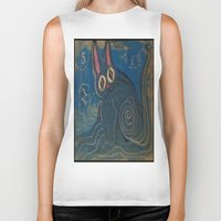 Wave Kitty Biker Tank