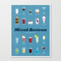 Mixed Reviews Canvas Print