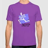 Marathon Record Time Mens Fitted Tee Ultraviolet SMALL