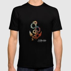 My Hope Anchor- black SMALL Mens Fitted Tee Black