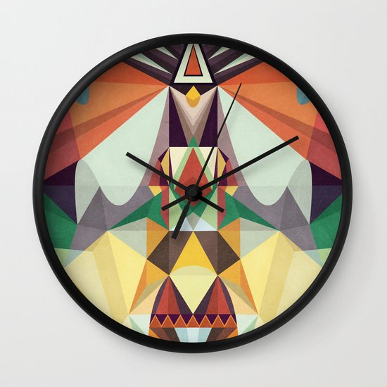 Going Somewhere Wall Clock