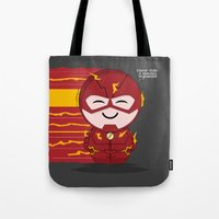 ChibizPop: Faster Than..… Tote Bag