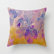 Pink And Purple Foliage … Throw Pillow