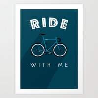Ride With Me Art Print
