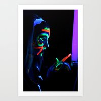 Blacklight Fun Art Print