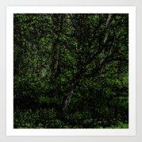 Green Season Art Print