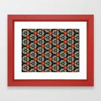 Breitner Pattern Framed Art Print