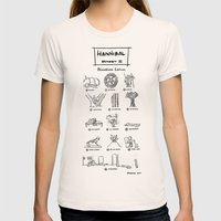 Hannibal - Season 2: Blo… Womens Fitted Tee Natural SMALL