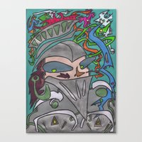 Rutherford The Brave Canvas Print