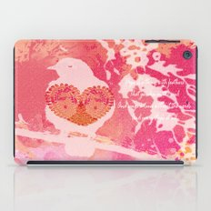 Hope is a Thing With Feathers iPad Case