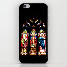 Stained-glass window iPhone & iPod Skin