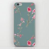 2016 Calendar Print - Cherry Blossoms iPhone & iPod Skin