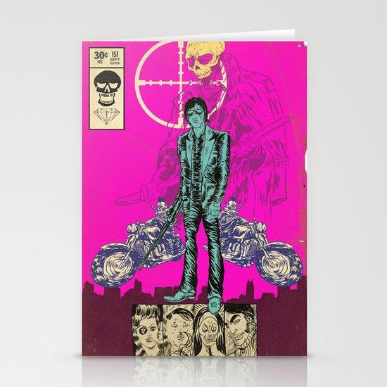 THE MAN FROM OSAKA Stationery Card