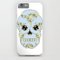 Rococo Skull iPhone 6 Slim Case