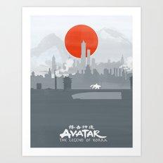 Avatar The Legend of Korra Poster Art Print