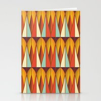 Colorful pattern Stationery Cards