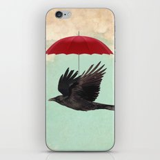Raven Cover iPhone & iPod Skin