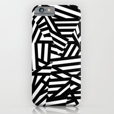 Simply Black and White 1 iPhone 6 Slim Case