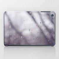 Rain drops. iPad Case