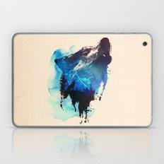 Alone as a wolf Laptop & iPad Skin