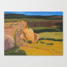 Horsethief Bench Canvas Print