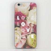 love love love iPhone & iPod Skin
